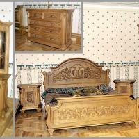 Резная спальня из массива дуба (10)
